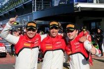 Het Belgian Audi Club Team WRT wordt in Silverstone beloond met een prachtige podiumplaats