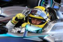 Spanje: Rosberg pakt derde pole op rij voor Mercedes