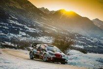 WRC: Ogier als leider naar Monaco, Evans lost niet