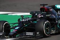 Groot-Brittannië: Hamilton wint race met dramatisch einde