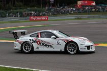 Porsche Supercup: Spa: Nieuwkomer Klaus Bachler wint na dolle laatste ronde