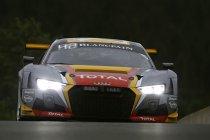 Belgian Audi Club Team WRT in de 8 Uur van Laguna Seca