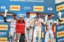 Nürburgring-Nordschleife: Yvan Muller kaatst de bal terug, Ma crasht (race 2)