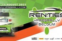 De Renties Ypres Rally Belgium van 13 tot 15 augustus 2021