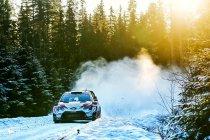 WRC: Evans trotse leider na dag 1 in Zweden