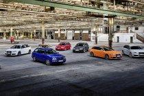 Audi Sport viert 25 jaar Audi RS-modellen