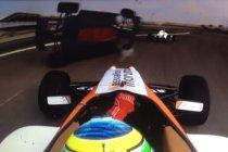 Video: MRF Challenge: Bahrein: De crash van Sam Dejonghe uit twee verschillende hoeken