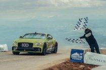 Bentley neemt nog eenmaal deel aan Pikes Peak Hill Climb