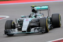 Rusland: Rosberg neemt pole position in Sochi