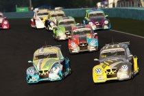 Een bijzonder internationale Xmas Race van de VW e-Fun Cup