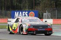 Valencia: Neal Van Vaerenbergh schenkt PK Carsport een eerste overwinning in de NASCAR Whelen Euro Series
