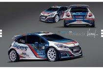Peugeot Sport Belux met 208 T16 en Princen-Kaspers in Belgian Rally Championship