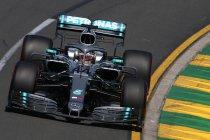 Australië: Hamilton op pole in Melbourne