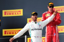 Frankrijk: Hamilton wint na crash Vettel in eerste bocht - Verstappen op podium