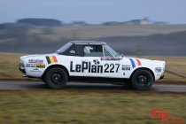 Spa Rally: Dirk Vermeersch met Fiat 124 Spider GT in Belgian Historic Rally Championship