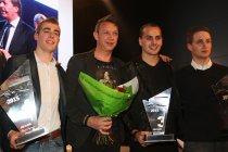 Huldiging van de Benelux Porsche-kampioenen