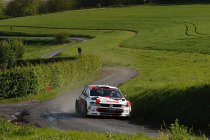 Spanningsboog houdt aan in BK Rally
