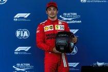 Azerbeidzjan: Charles Leclerc op pole na chaotische kwalificaties