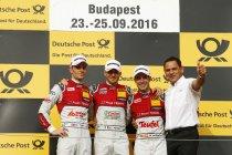 Hungaroring: Edoardo Mortara wint zaterdagrace en verkleint puntenkloof naar Marco Wittmann