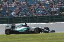 Groot-Brittanië: Rosberg ondanks problemen toch primus in de vrije trainingen