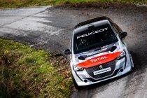 De eerste Peugeot 208 Rally4 is aangekomen in het atelier van DG Sport Compétition