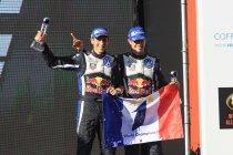 Rally van Australië: Ogier en Volkswagen pakken derde wereldtitel op rij