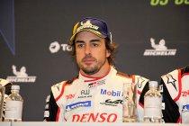"6H Spa: Alonso: ""Podium is zo leuk, ik blijf hier de ganse nacht"""