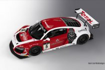 Enzo Ide met Phoenix Audi en Kumpen (WK GT), Kumpen / Winkelhock (BES) en Ruben Maes (BRCC)