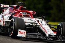Alfa Romeo verliest hoger beroep over penalty Kimi Räikkönen in Imola