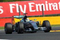België: Hamilton wint zonder problemen - Grosjean pakt podium in eindfase
