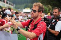 Duitsland: Vettel neemt het op voor aartsrivaal Hamilton