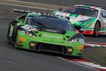Nürburgring: Lamborghini op pole na erg korte kwalificatie