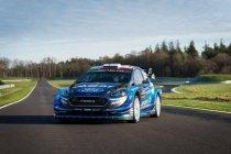 WRC: M-Sport toont nieuwe outfit voor Fiesta