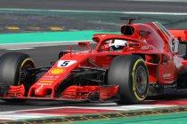 Wintertesten Barcelona: Vettel snelste tijdens racesimulatie