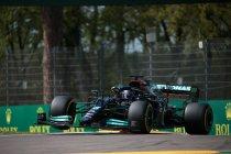 Emilia Romagna: Hamilton op pole, Perez tweede