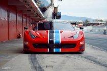 Curbstone op training in Spanje als voorbereiding op BRCC en Supercar Challenge
