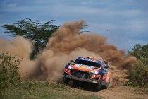 WRC: Neuville pakt de kop in Kenia