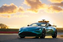 Aston Martin en Mercedes safety- en medical car in 2021-seizoen Formule 1