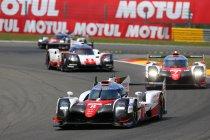 6H Spa: Toyota pakt dubbel nadat Porsche zichzelf elimineert