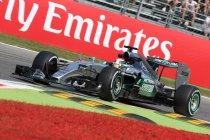 Italië: Hamilton op pole vóór de Ferrari's