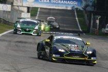Monza: Aston Martin en McLaren aan het feest