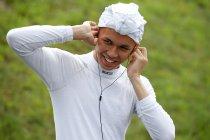 GP3: Alex Albon naast Nyck de Vries bij ART GP