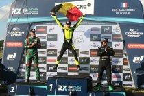 World RX Lohéac: Drie op een rij voor Hansen Motorsport / 16-jarige Kobe Pauwels wint RX3