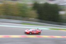 Spa Euro Race: Belgen ook zeer sterk  in de regen