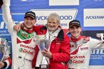 Le Castellet: Rob Huff bezorgt Honda eerste seizoenzege na gesmaakte wedstrijd