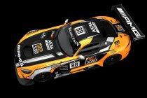 24H Spa: AMG toont fabriekskleuren