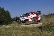 WRC: Tänak en Rovanperä bovenaan in Estland