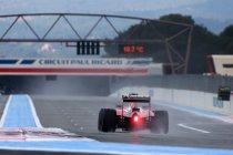Regenbandentest Pirelli - dag 2: Vettel op kop