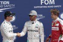 Italië: Hamilton pakt vijfde pole in Monza - Evenaart record van Fangio en Senna