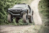 Peugeot toont technische details en actiebeelden 2008 DKR (+ video & foto's)